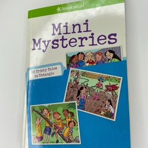 American girl- mini mysteries paperback book